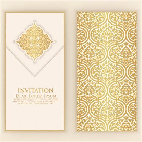 invitation card design ai file invitation card design vector premium download