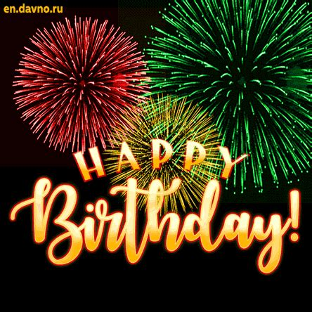 Happy Birthday Animated Cards With
