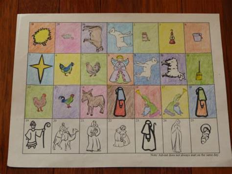 printable religious advent calendar 2014 three page printable catholic advent calendar to cut and