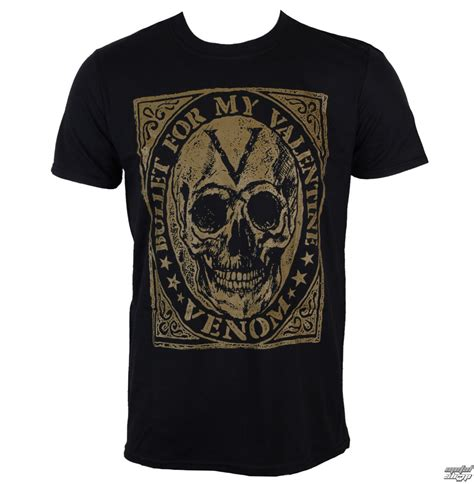 Bullet My t shirt metal s bullet for my venom skull