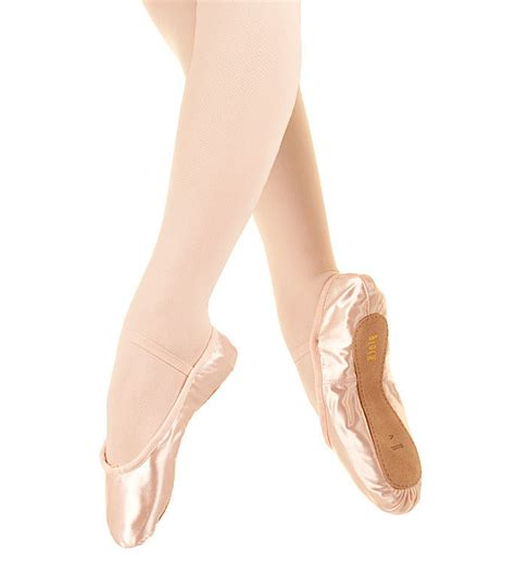 bloch debut pink satin ballet shoes ebay