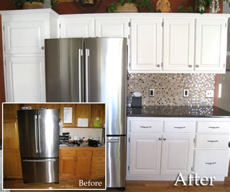 can you paint wood cabinets painted kitchen cabinets before and after photos bar cabinet