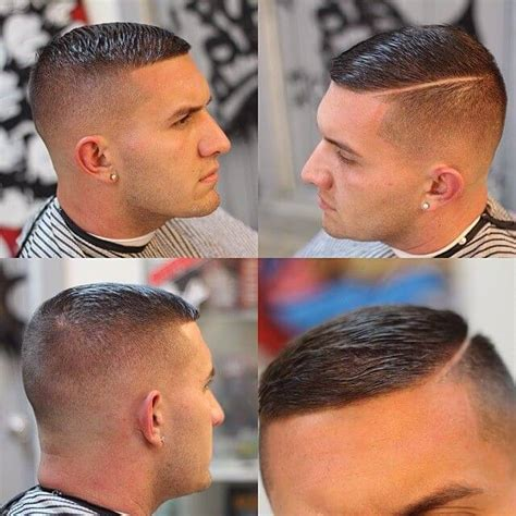 how to cut a hard side part haircut high and tight mens hairstyle