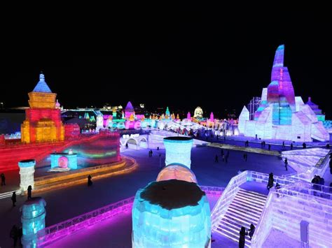 harbin snow and ice festival 2017 2018 harbin international ice snow sculpture festival