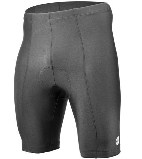 mens cycling men s 6 panel gel padded cycling shorts