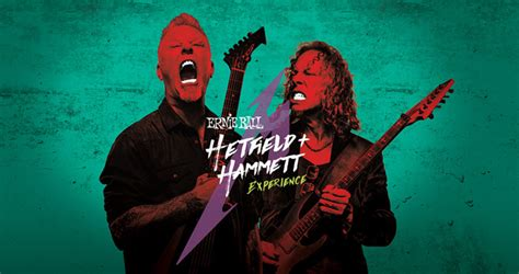 Metallica Sweepstakes - ernie ball hetfield hammett experience sweepstakes