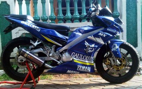 Kas Rem Belakang Jupiter Z New modifikasi jupiter mx warna biru motor gp inspirasi modif