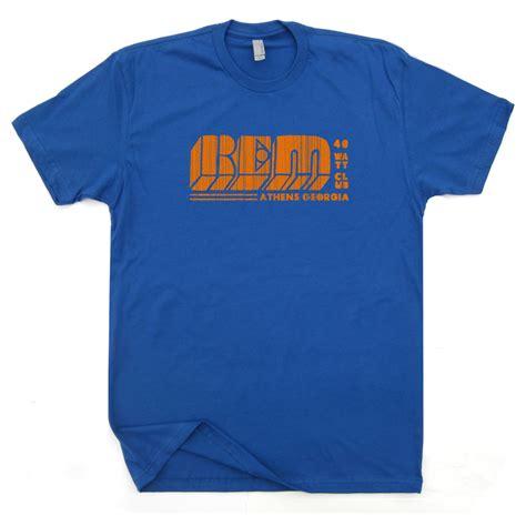T Shirt T Shirt M A T E rem r e m t shirt vintage concert rock tour band