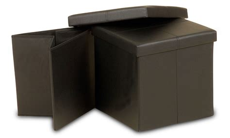 ottoman storage box ottoman small folding storage box visco therapy