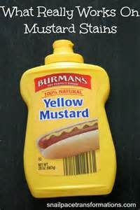 this post talks about all the mustard stain removal tips