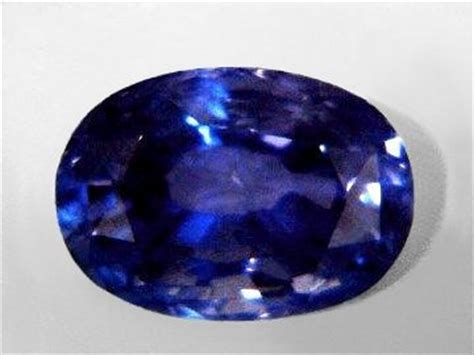 Purplish Blue Iolite 6 45ct blue sapphire gemstones