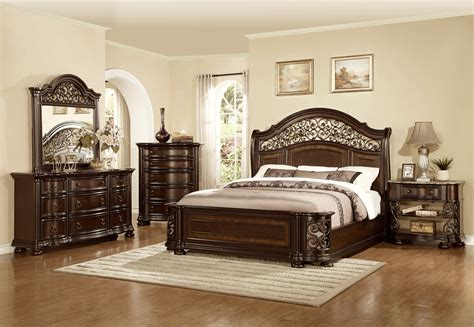 Mcferran Bedroom Set by Mcferran Furnishing Allison B366 Bedroom Set