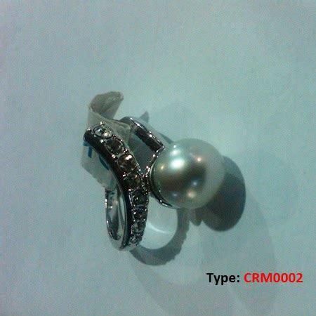 Gelang Rhodium Mutiara Air Laut 34 pusat mutiara lombok menjual cincin gelang kalung