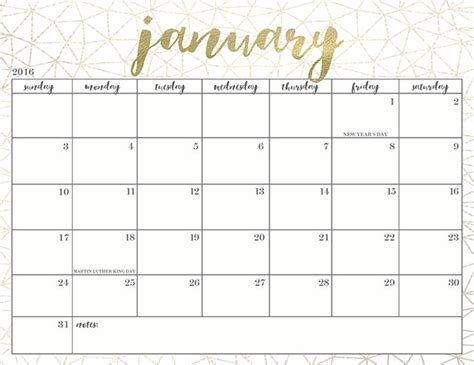 pretty calendar template pretty free printable 2016 calendars printables