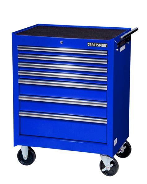 craftsman   drawer roller cabinet blue pro tool