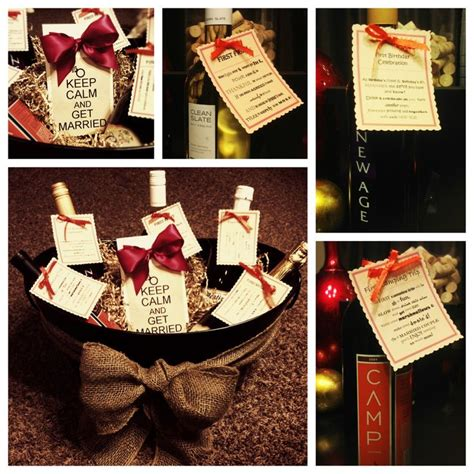 Wine Basket Shower Gift by Wine Basket Gift For A Bridal Shower The Crafty Crafter