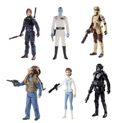 Figure One 1 Set wars universe 2017 rogue one wave 1 3 75 inch