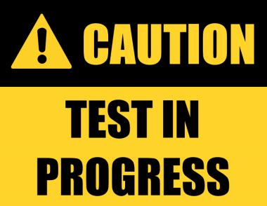 Sign Template For Testing by Caution Floor Sign Printable Gurus Floor