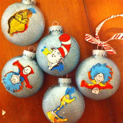 dr seuss christmas ornaments christmas new years