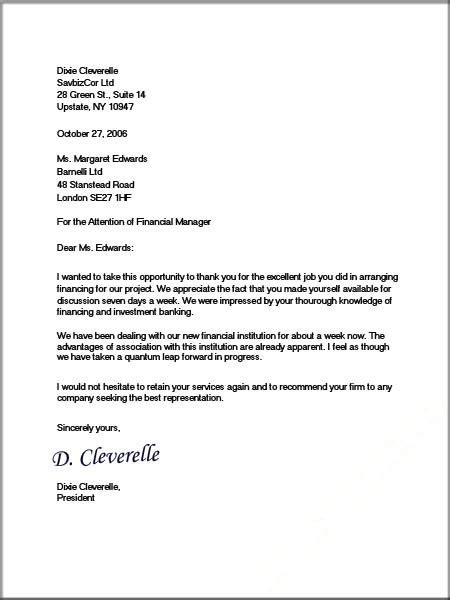 Business Writing Templates Formal Business Letter Format Official Letter Sample