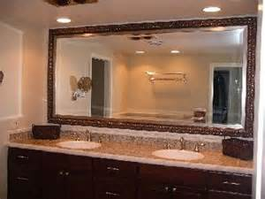 Custom Framed Mirrors For Bathrooms Framed Bathroom Mirrors Ideas Home Interior Design Installcustom