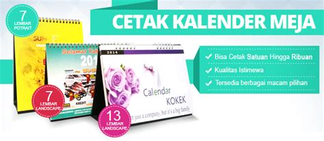 Kalender Dinding Duduk Surabaya cetak kalender murah disini harga mulai rp 1 250 pcs