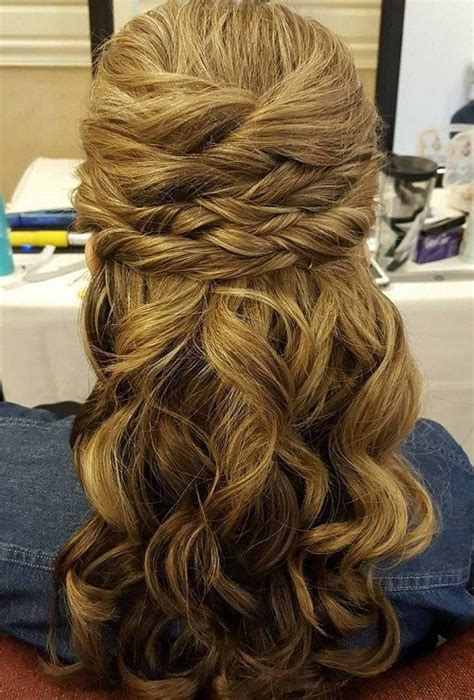 half up half wedding hairstyles 50 stylish ideas