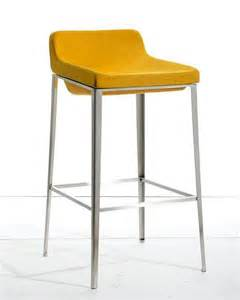 Bar Stools Contemporary Style Fabric Bar Stool In Modern Style 44br105 F