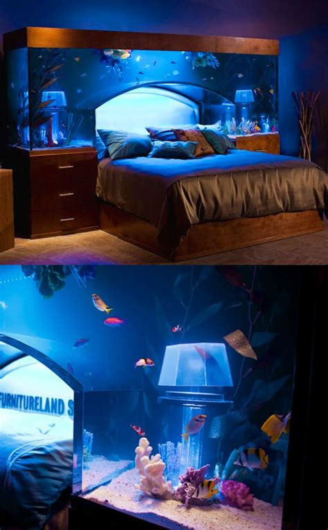 fish tank bed fish tank aquarium bed might be coolest ever lets you
