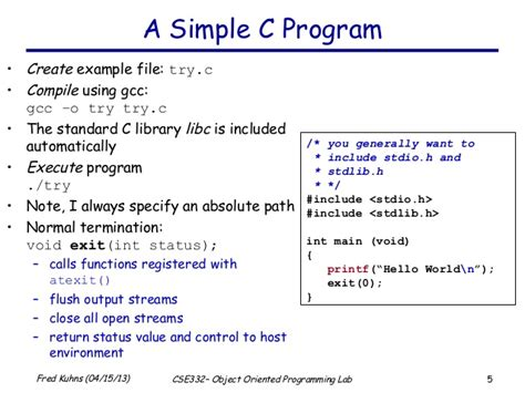 pattern exles in c language brief introduction to the c programming language