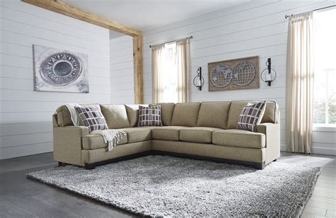 ashley furniture larkhaven raf sofa sectional  classy home