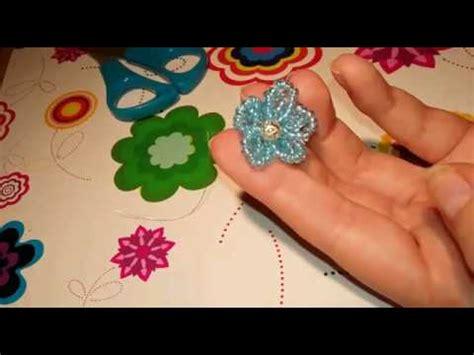 perline fiori tutorial fiore di perline