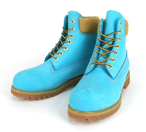 colored boots timberland 6 inch premium aqua freshness mag