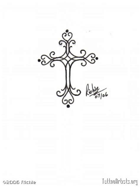 cross tattoo feminine feminine cross tattoos cool tattoos
