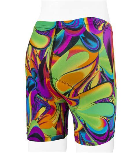 multi color lava l child s lava l cycle shorts multi colored made in usa