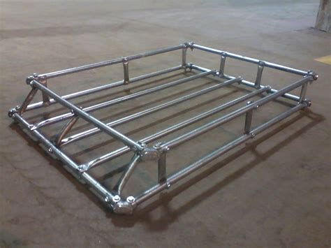 Roofrack Keranjang Simple my easy no weld roof rack jeep forum