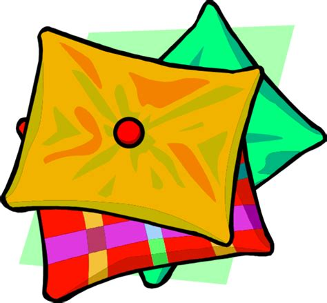 orange pillow clipart cliparts and others inspiration