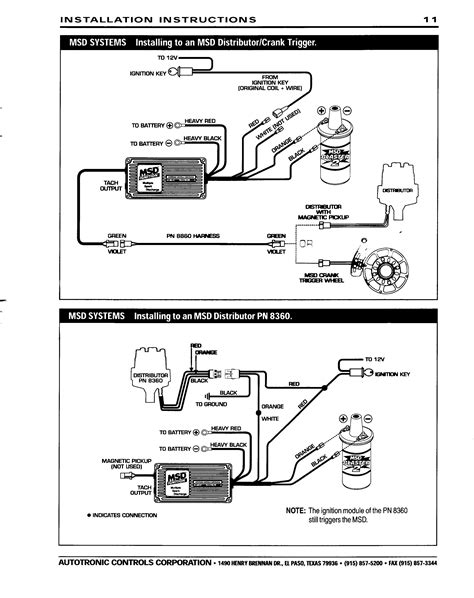 msd ignition systems wiring diagrams msd wirning diagrams