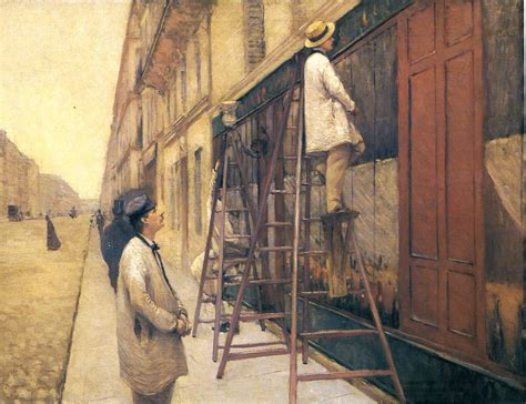 The House Painters 1877 Gustave Caillebotte Wikiart Org