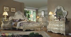 traditional bedroom furniture collection mansion bed wood