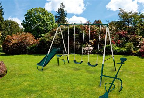 swing with slide supagarden multi function childrens kids play area swing