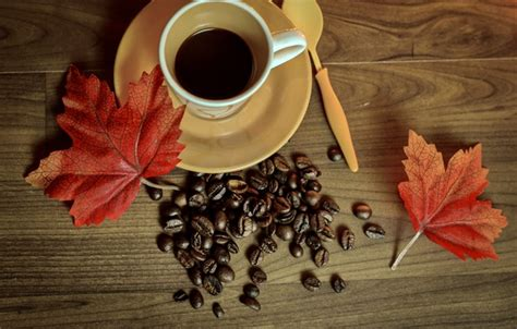 coffee autumn wallpaper wallpaper cup cup leaves coffee autumn beans coffee