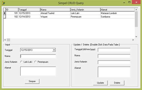 delphi query tutorial insert update dan delete data dengan query di delphi