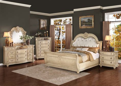 antique bedroom sets homelegance palace ii upholstered bedroom set antique