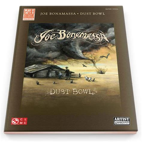dust picture book dust bowl tab book released 2012 joe bonamassa