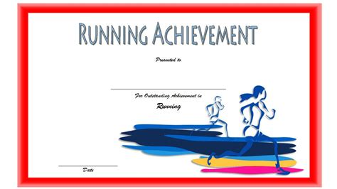 run certificate template running certificate 1 the best template collection