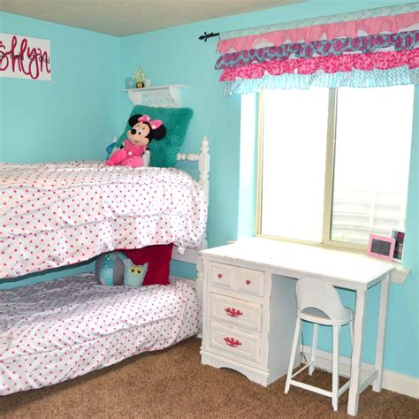 Hometalk Hot Pink And Turquoise Girls Bedroom Makeover