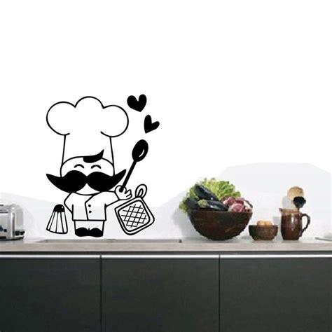vinilos decorativos cocina vinilo decorativo cocina chef cocinero deco pegatina