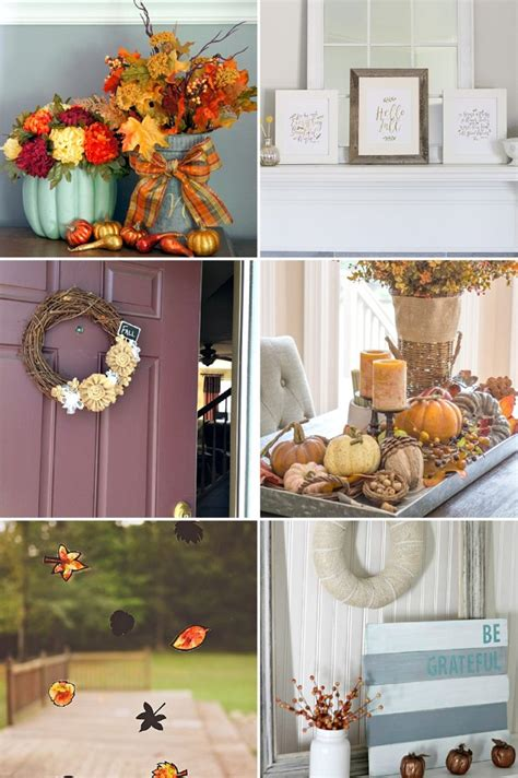 fall home decor pinterest fall home decor ideas sarah halstead