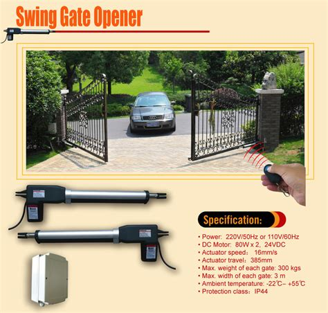 swing gate opener price aleko as600 swing gate opener for single swing gates up